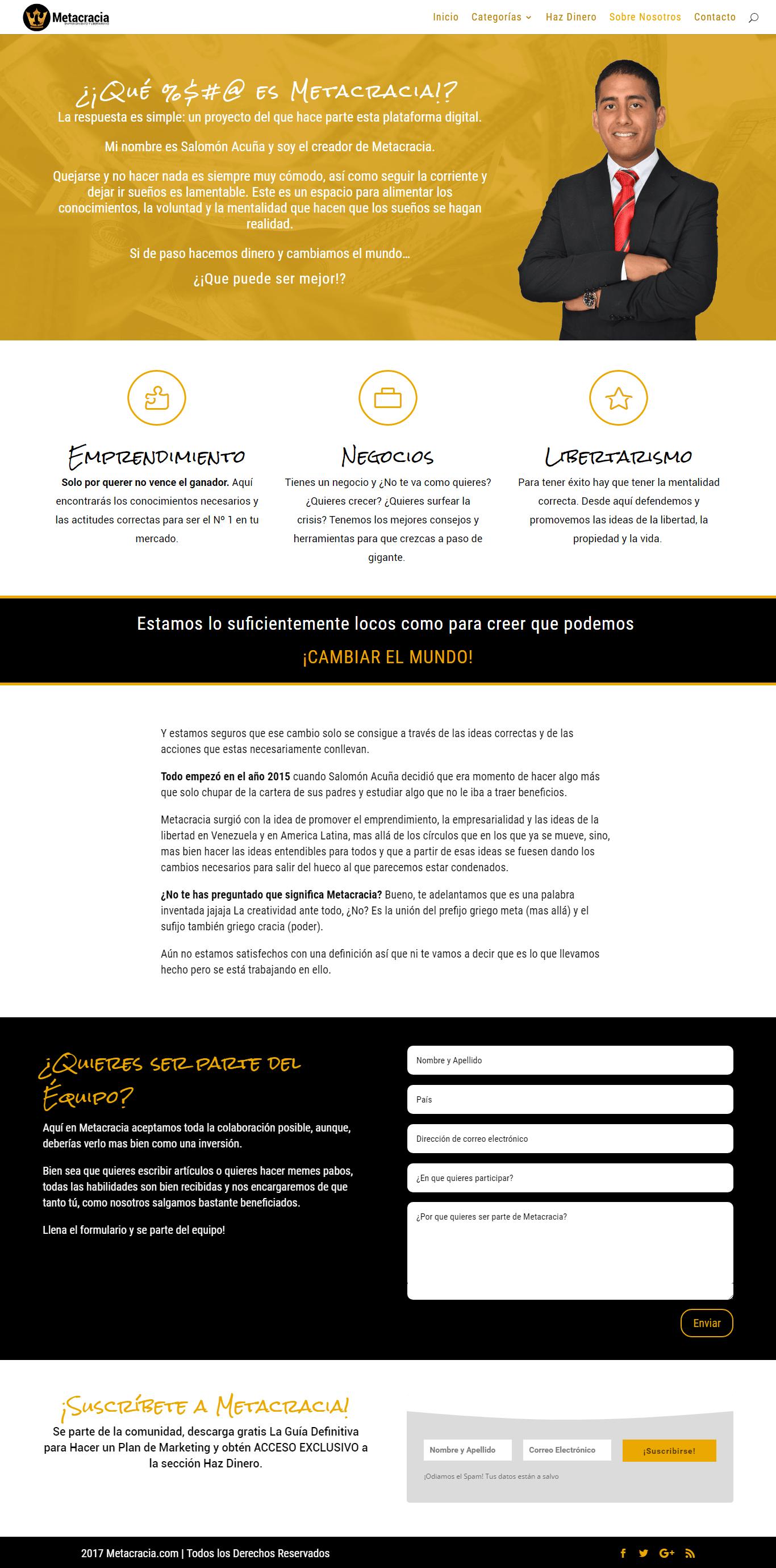 Metacracia.com 2