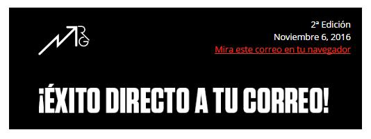 Newsletter Miguelruizgil.com