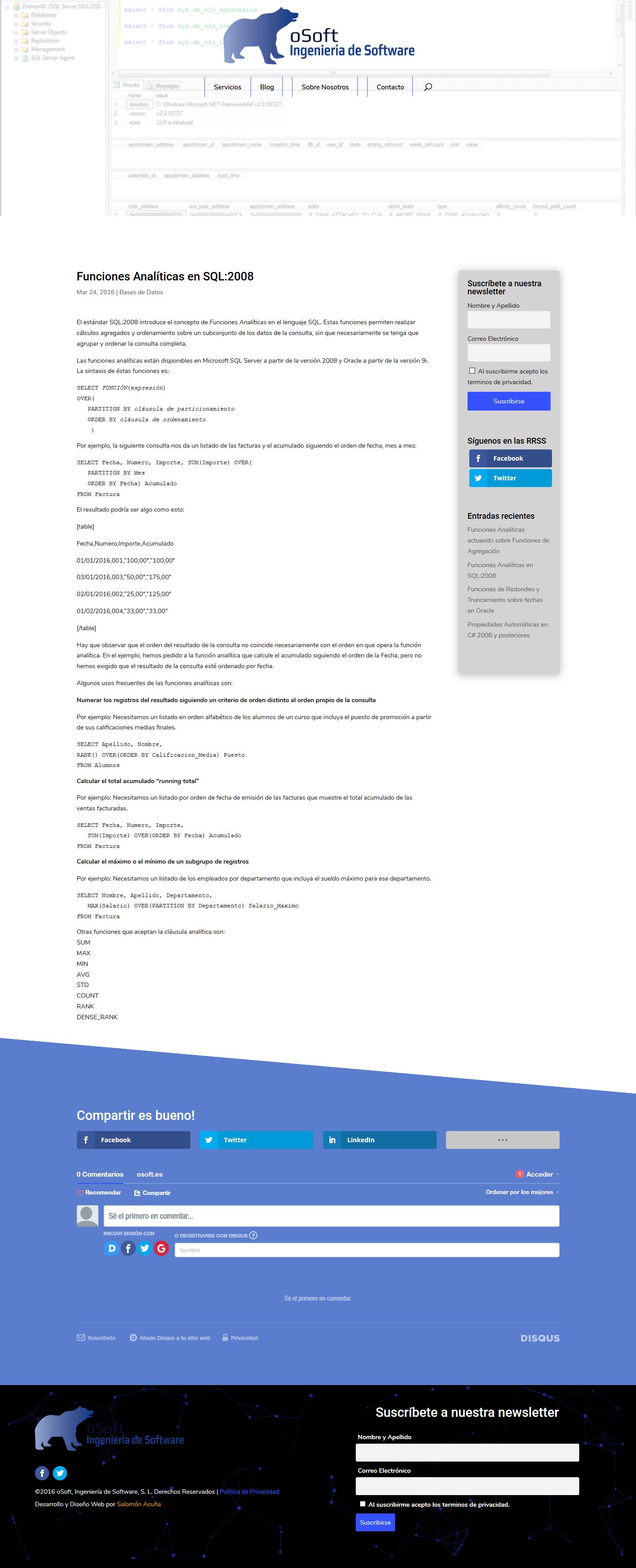 oSoft - Ingenierías de Software 4