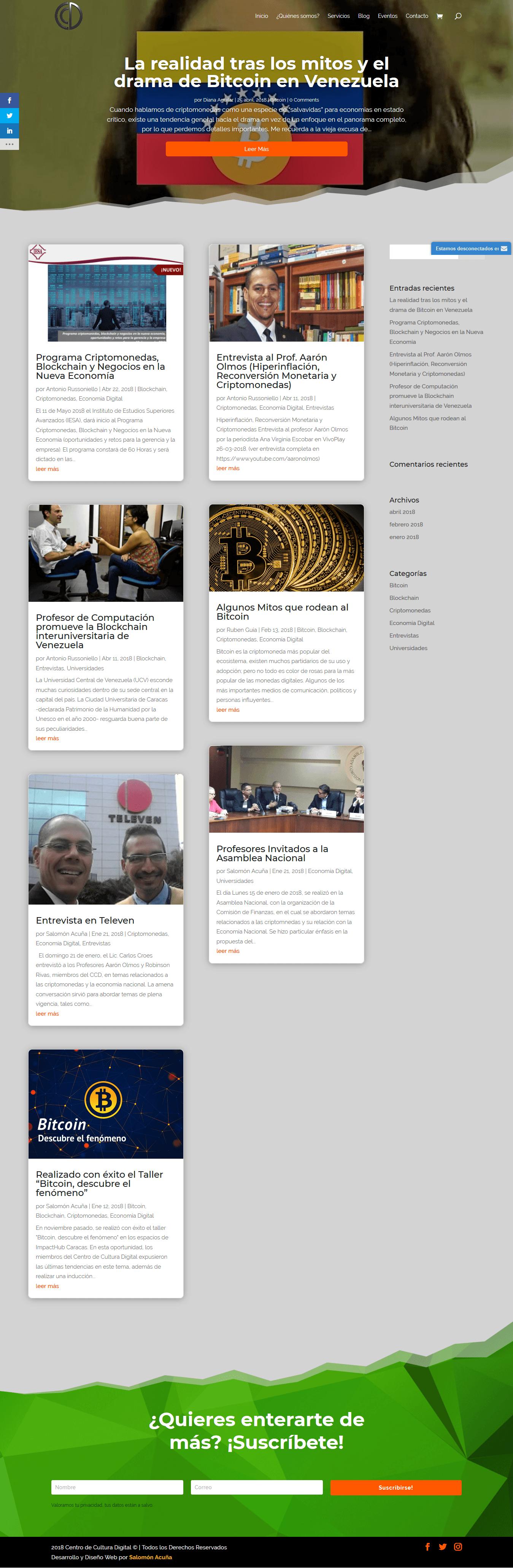 Blog Centro de Cultura Digital