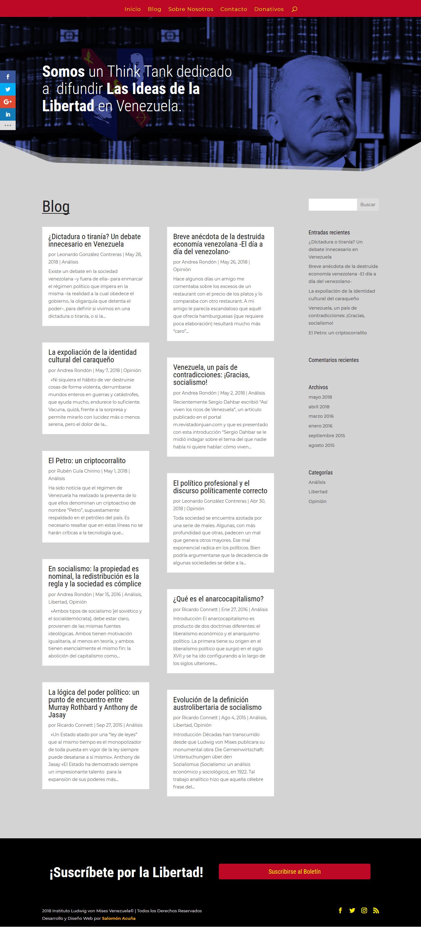 Mises Venezuela Blog