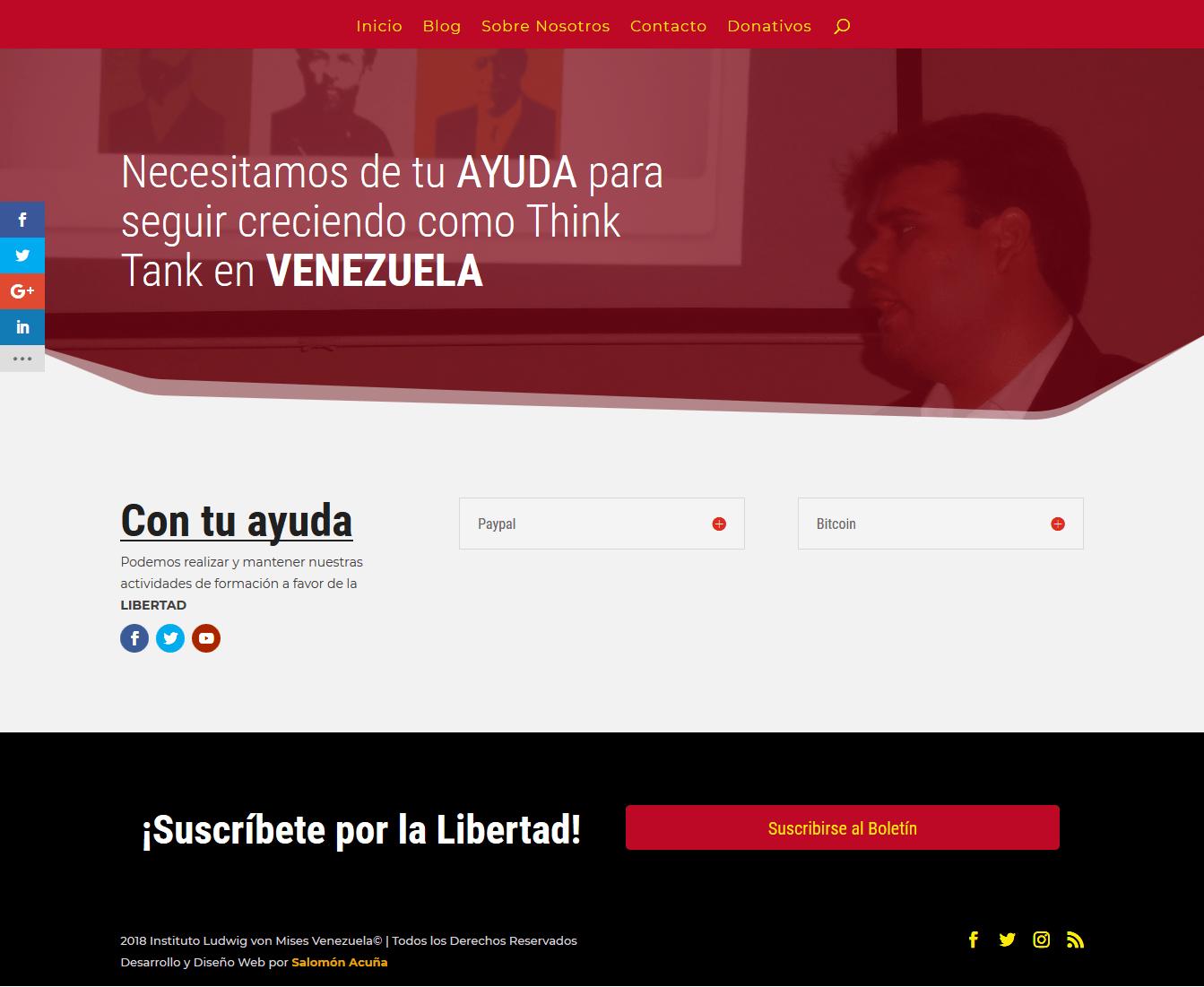Mises Venezuela Donaciones