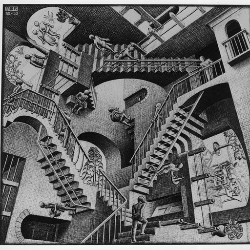 Escher Relatividad - La Buena Escritura